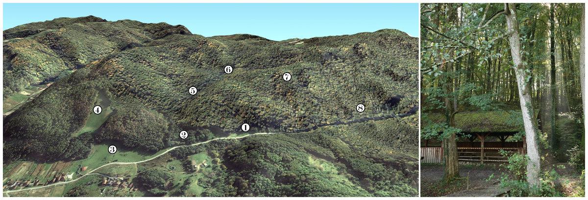 Slika 1 - izletište Bunarić