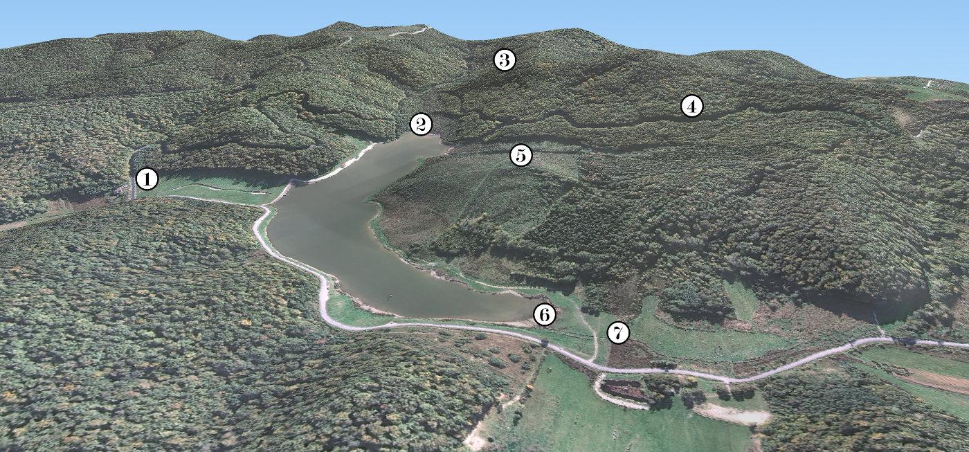 Slika 1 - jezero Javorica